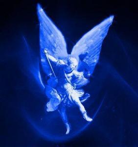 Arcanjo Miguel Raio Azul