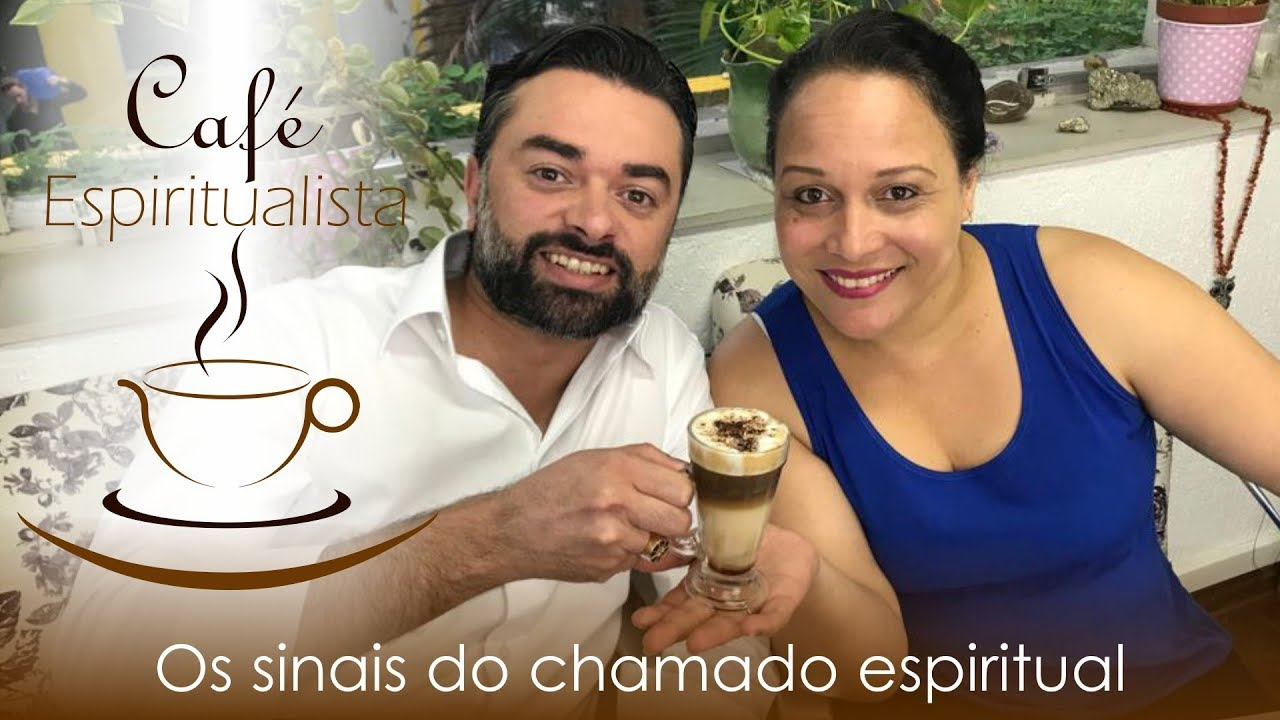 Daniel Souza e Suely Cyrino apresentando o programa café espiritualista